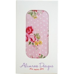 Beautiful Alimrose floral muslin wrap in lovely gift box. 120cm x 110cm.