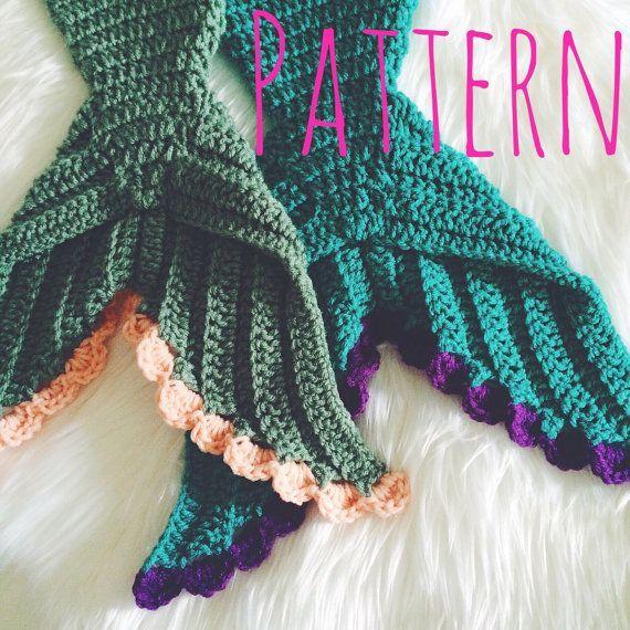 Baby Mermaid Crochet Pattern Newborn Size Mermaid by BeauAmour