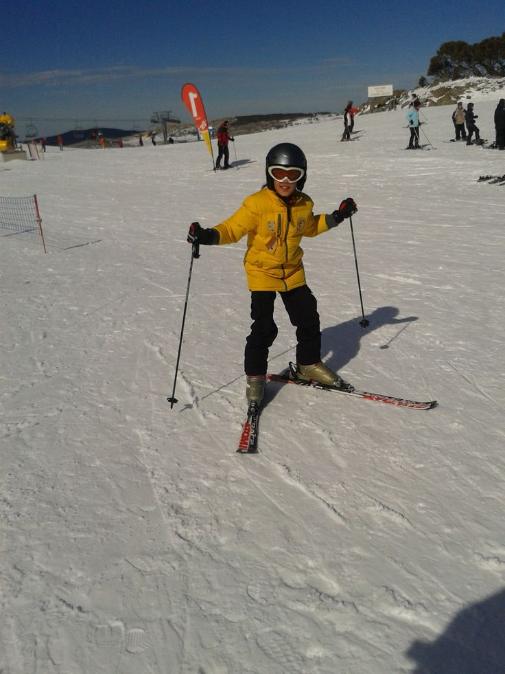 A ski lesson can be a lot of fun