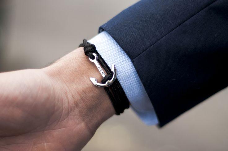 Armband Bakboord - DEUX. Nautische anker armbanden.