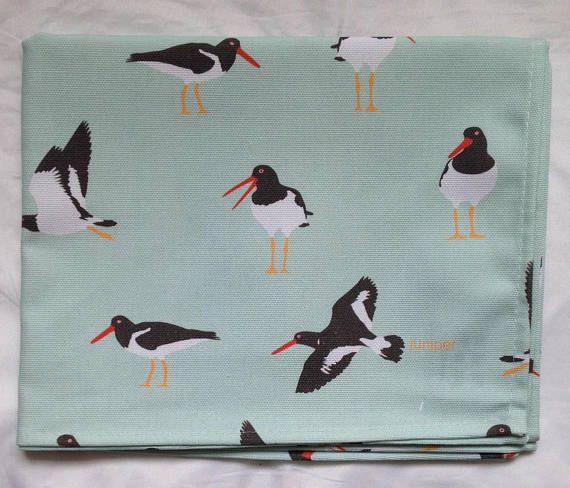Oystercatcher tea towel  oystercatcher kitchen towel