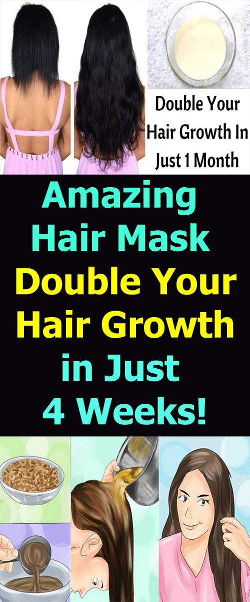 Amazing Hair Mask to Double Your Hair Growth in Just 4 Weeks!!!