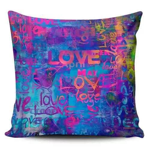 Cojin Decorativo Tayrona Store  Abstracto Love 01 - $ 43.900