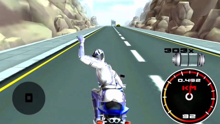 #AndroidGame Be a hero, drive & #race real #bike on the crazy pavement roads to double up your score!  https://youtu.be/JKtIgy7KD-Y