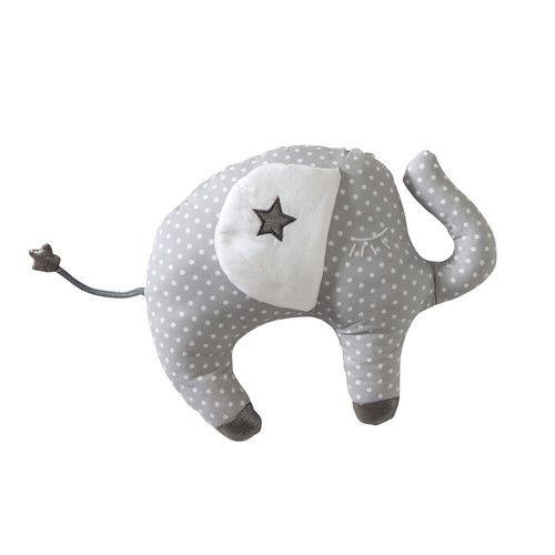 Cuscino bambino elefante Songe