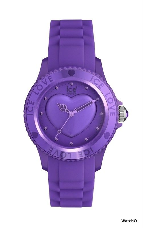 Ice-Watch Ice Love Lavender Small size  See more of this Collection at:-  http://www.watcho.co.uk/watches/ice-watch/ice-watch-ice-love-watches.html