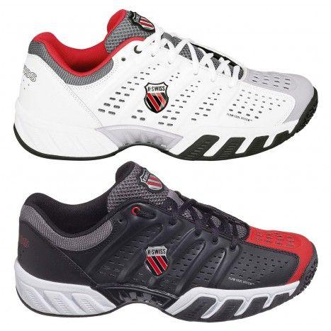 De #KSwiss Bigshot Light voor heren zijn lichtgewicht #tennisschoenen, geschikt voor kunstgras en gravel. #dws