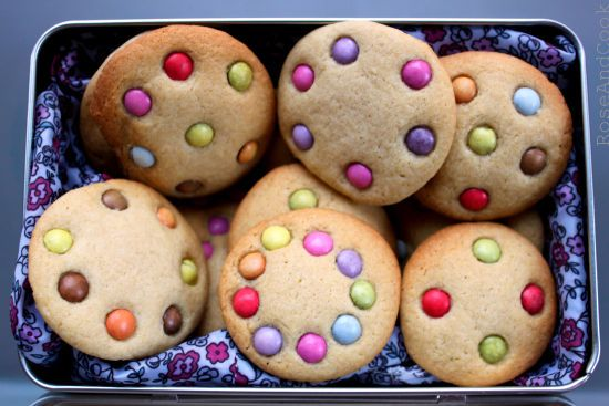 Cookies aux smarties.