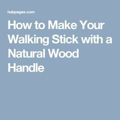 how to make a walking stick flute