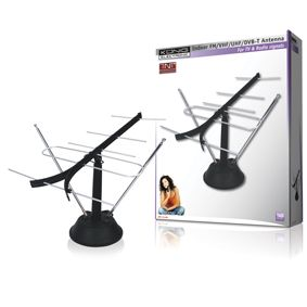 Antena fm/vhf/tv para interiores könig ANT 111-KN Accesorios tdt tv sat y antena PC Imagine