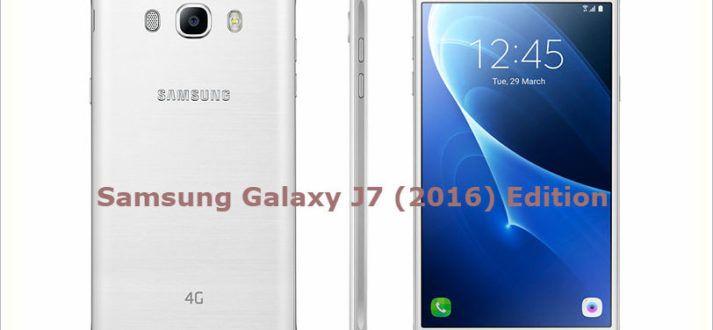 Samsung Galaxy j7 2016 Edition