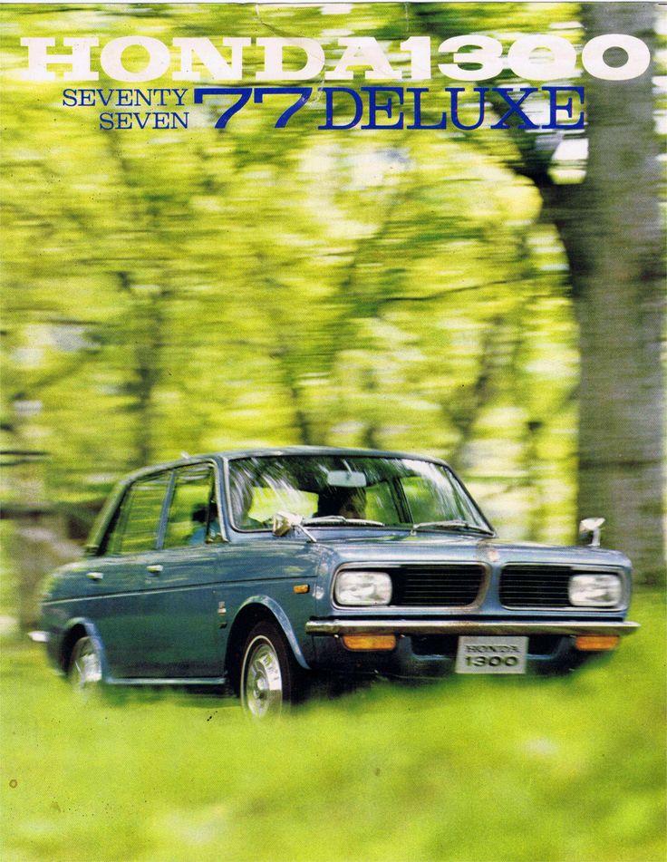Honda 1300 77 Deluxe Japan Brochure 1969