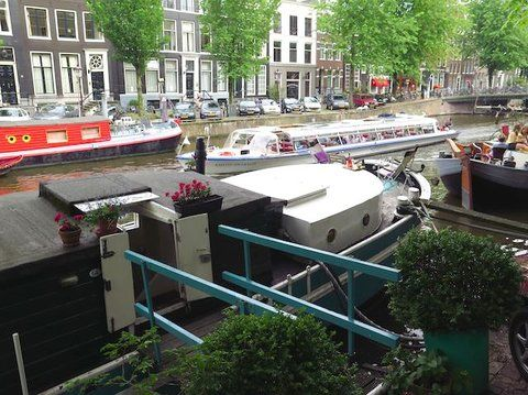 Houseboat rental- Amsterdam