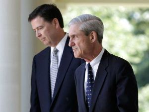 WITCH HUNT EXPLODES AS JAMES COMEY RENTERS SCENE WITH MUELLERS HELP