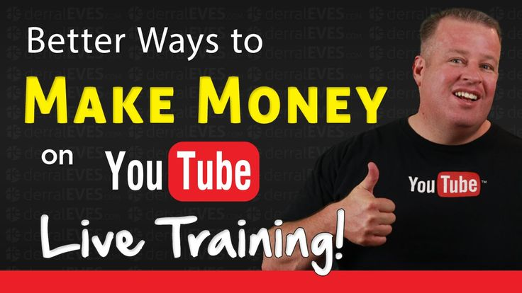 Better Ways to Make Money on YouTube - YouTube Sponsorship Opportunities