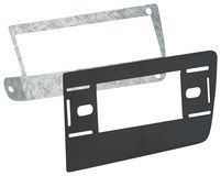 Metra - DIN Installation Kit for Select Chevrolet and GMC Vehicles - Black, 87-99-3052