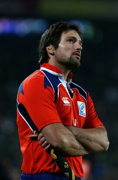 Steve Walsh is a professional rugby union referee from New Zealand. He has officiated at international level since 1998, and at three Rugby World Cups, including refereeing the semi-final between South Africa and Argentina in 2007. (I need to mention that I'm totally in love with this man).