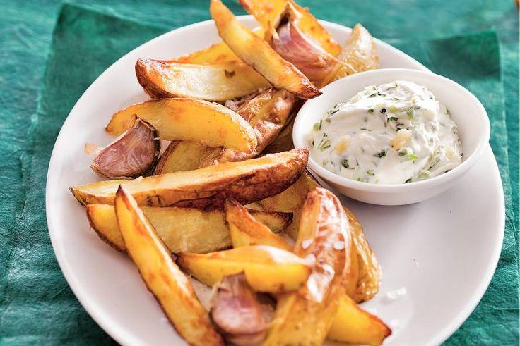 Aardappel met knoflookcrème - Recept - Allerhande