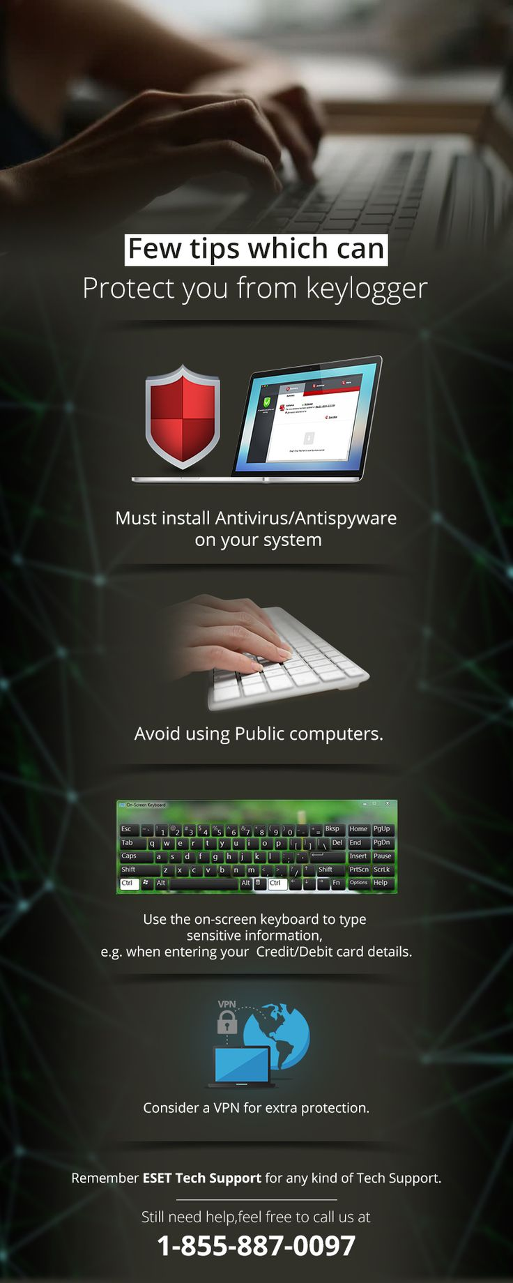 Protect your system from keylogger 19 best