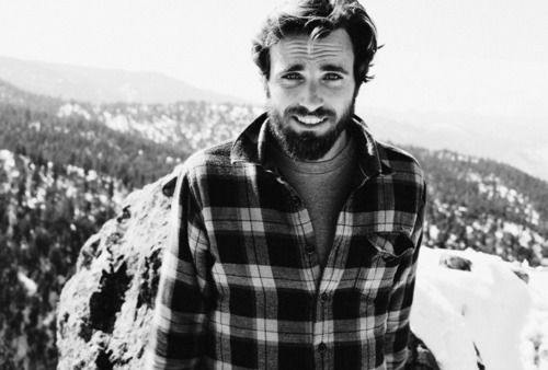 my dream. a mountain man. flannel, beard and everything else.