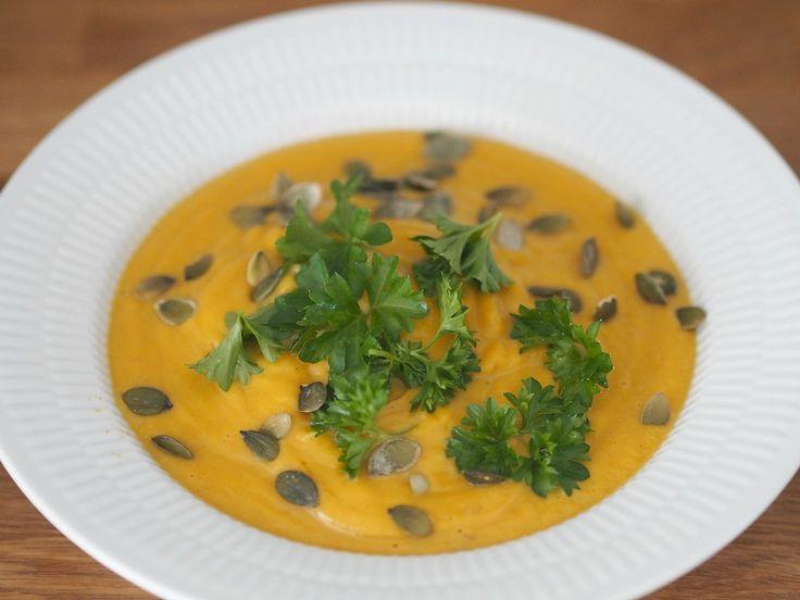 Opskrift: Cremet butternut suppe | Danica Chloe