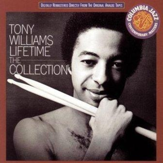 album cover Tony Williams Lifetime-....played as Miles Davis's drummer at the age of 16years old. Known for independent rhythms from every limb in his body!
