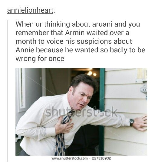 When you're thinking about aruani