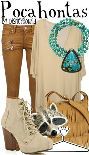Pocahontas Outfit