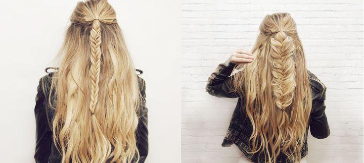 nice Красивые косы на длинные волосы (50 фото) — Оригинальные идеи плетений Check more at https://dnevniq.com/kosy-na-dlinnye-volosy-foto/