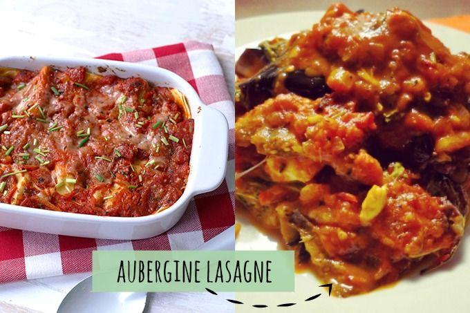 Op zoek naar een lekkere ovenschotel? Bekijk dan eens dit recept voor een aubergine lasagne bomvol groenten. Super lekker en simpel om te maken.