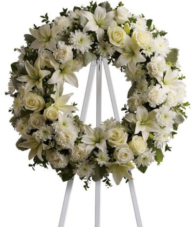 Funeral Wreaths & Crosses at Florist