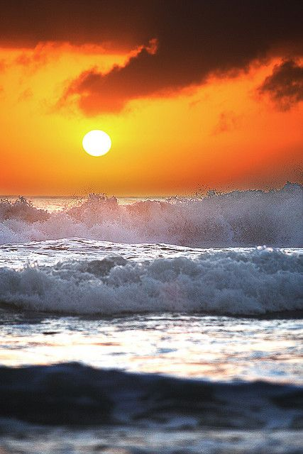 Ocean Sunrise  Sunrise at Warriewood Beach, Sydney' Northern Beaches, Australia