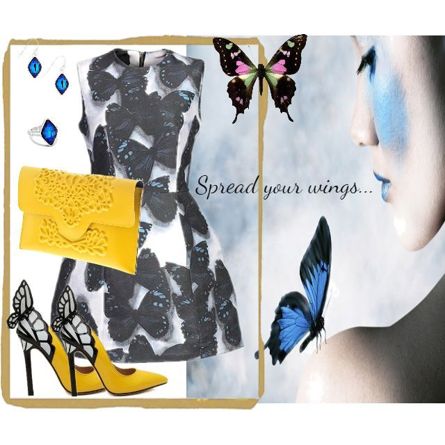 Until you spread your wings, you will never know how far you can fly:) Get the look here http://goo.gl/p3gYiK #SpreadYourWings #summerlook #lovemylook