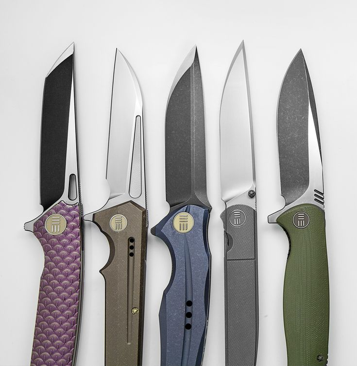 Some of Our Favorite WE Knife Folding Knives