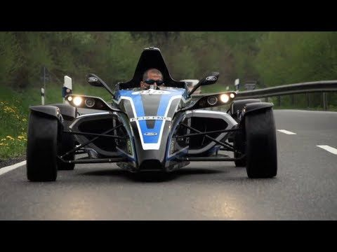 Formula #Ford EcoBoost. Street Legal Racer on Road and Nürburgring [Chris Harris On Cars]