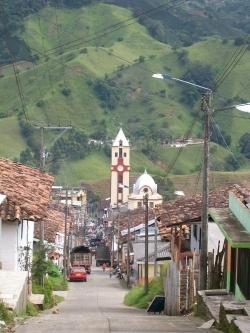 Belen de Umbría. Risaralda, Colombia, un municipio cafetero.