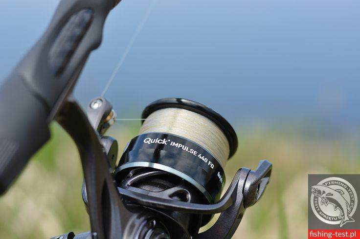 Kołowrotek D.A.M Quick Impulse 440 FD #wędkarstwo #fishing #reel #spinning