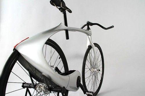 科幻時尚外觀 超精簡的太空漫遊自行車