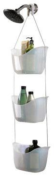 Umbra Bask 3 Baskets Shower Caddy contemporary-shower-caddies