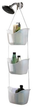 Umbra Bask 3 Baskets Shower Caddy contemporary-shower-caddies