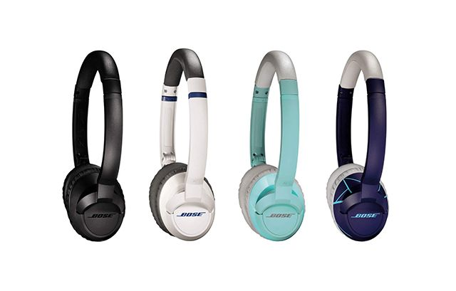 The Best On-Ear Headphones at Any Price | The Bose SoundTrue have the best overall balance of sound quality, size/portability, and comfort. Not quite the #1 best-sounding of the bunch—rhythm guitar and electric bass might sound louder than expected, and female vocals sound somewhat softer—but they're still pretty great at only $180.