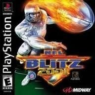 Complete NFL Blitz 2001 - PS1 Game