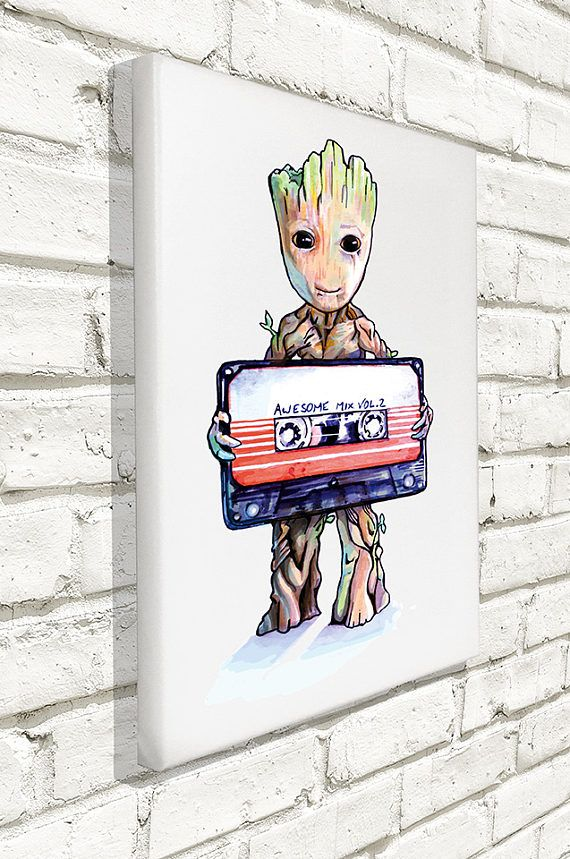 Hey, I found this really awesome Etsy listing at https://www.etsy.com/listing/527606525/guardians-of-the-galaxy-baby-groot