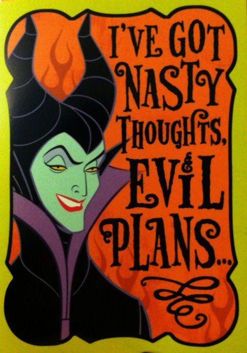 Maleficent - gotta mod podge this on something!
