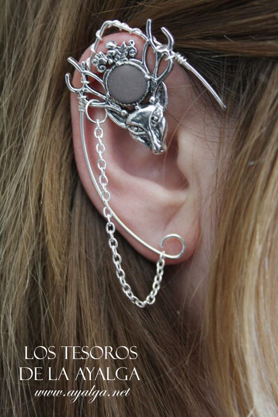 Hey, I found this really awesome Etsy listing at https://www.etsy.com/listing/220726037/elven-ear-cuff-elvish-earring-elven-ear