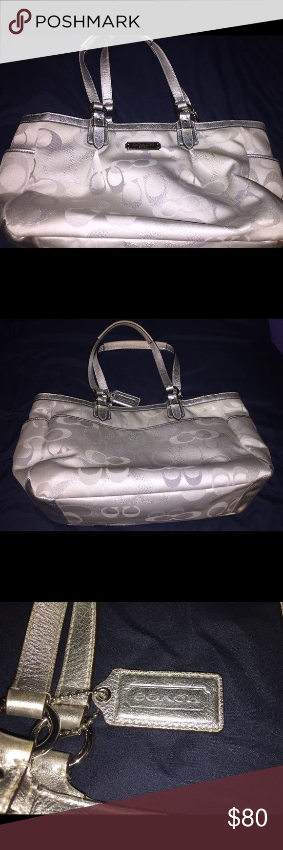 Coach purse In great condition just needs to be cleaned! Coach Accessories