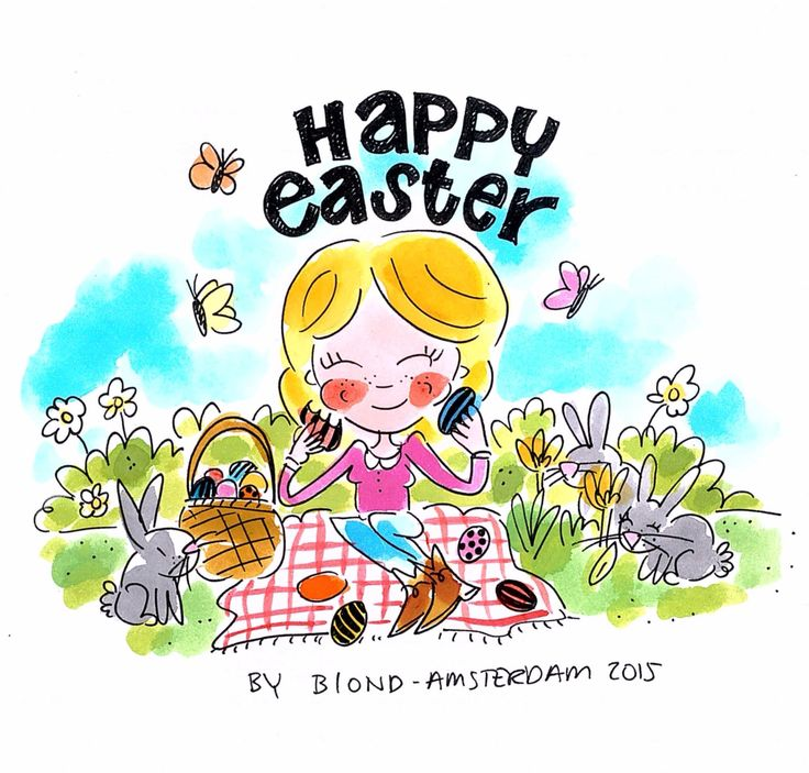 Happy easter Blond Amsterdam