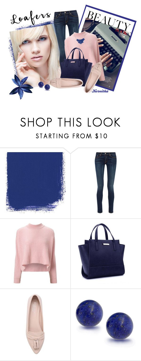 """""""loafers"""" by kornitka ❤ liked on Polyvore featuring rag & bone, VIVETTA, Carvela, Bling Jewelry and Heroldian Jewellery"""
