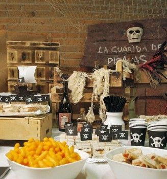 Rustic Pirate Birthday Party