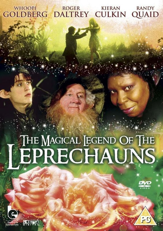 The Magical Legend Of The Leprechauns: A great movie for St. Patrick's Day, featuring Randy Quaid, Whoopi Goldberg, Roger Daltrey, Colm Meaney and Kieran Culkin.